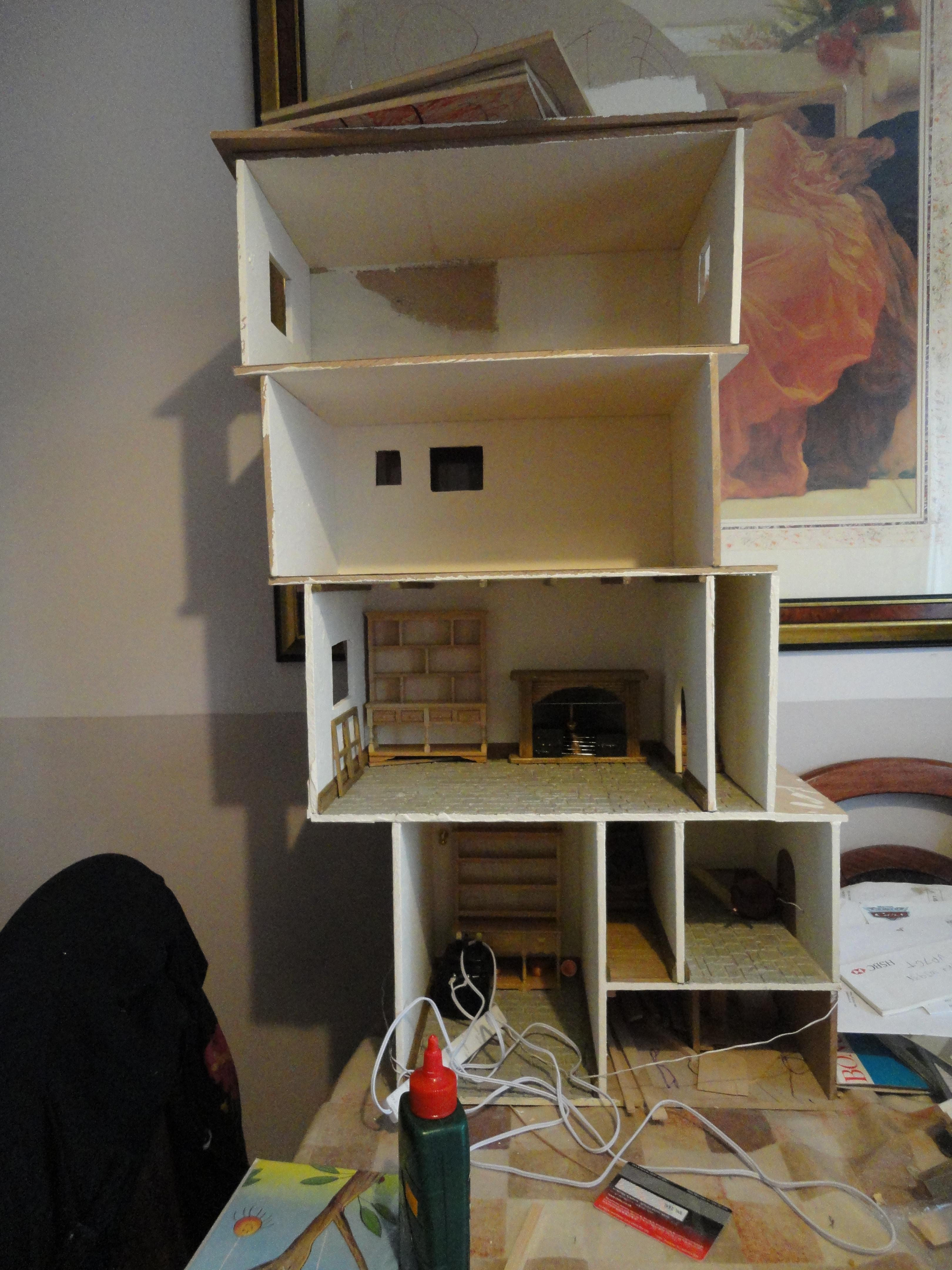 Miniature Tree House how i made the miniature mouse tree house | my miniature mouse
