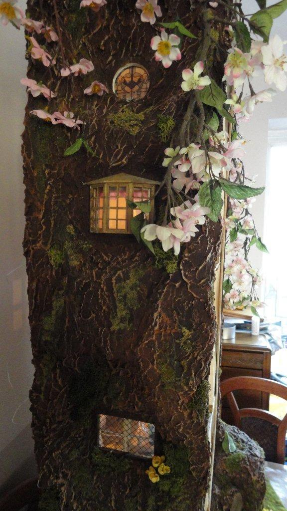 Miniature Tree House my miniature mouse tree house
